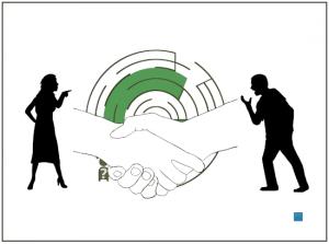 Streit Konflikt Mediation Lösung
